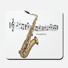 Saxaphone Music Mousepad