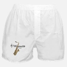 Saxaphone Music Boxer Shorts