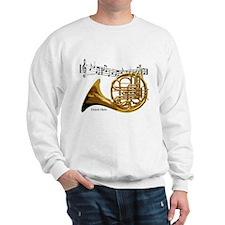 French Horn Music Sweatshirt