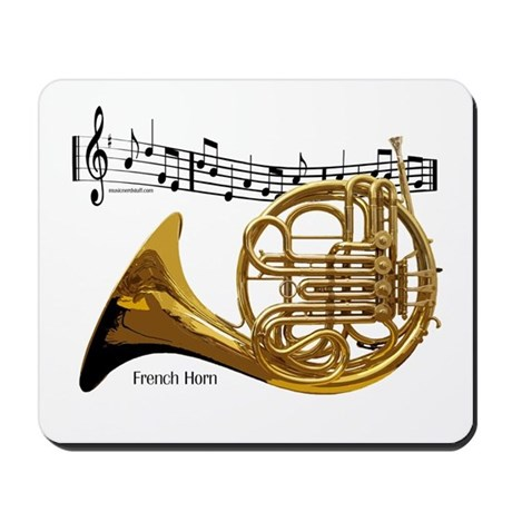 French Horn Music Mousepad