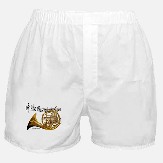 French Horn Music Boxer Shorts