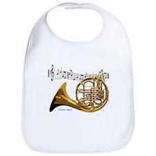 French Horn Music Bib