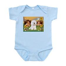 Angels & Bichon Frise Infant Bodysuit