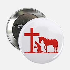 COWBOY PRAYER Button
