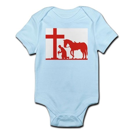 COWBOY PRAYER Infant Creeper