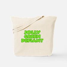 Jolly Green Defiant Tote Bag