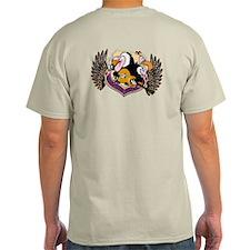 The Blues Vultures T-Shirt (grey/blue/beige)