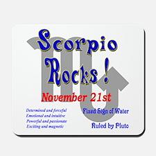 Scorpio November 21st Mousepad