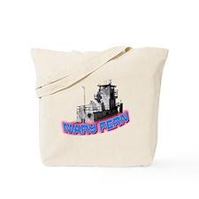 The Mary Fern tugboat Tote Bag
