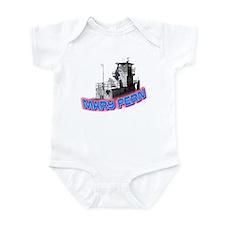 The Mary Fern tugboat Infant Bodysuit