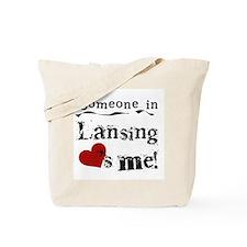 Lansing Loves Me Tote Bag