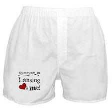 Lansing Loves Me Boxer Shorts