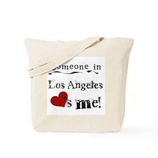 Los Angeles Loves Me Tote Bag