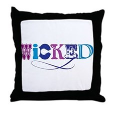 Wicked Multi Throw Pillow