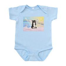 Border Collie Angel Infant Bodysuit