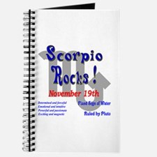 Scorpio November 19th Journal