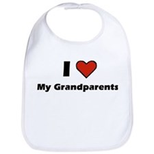 I heart my Grandparents Bib