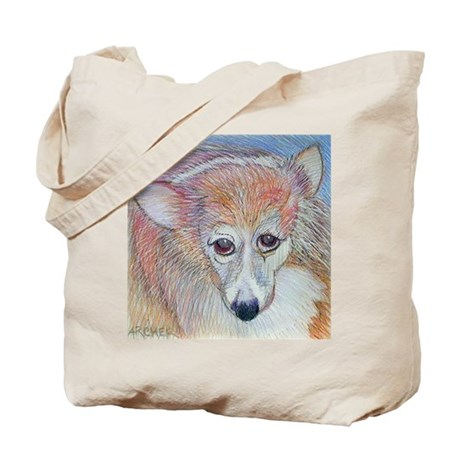 The Corgi Tote Bag