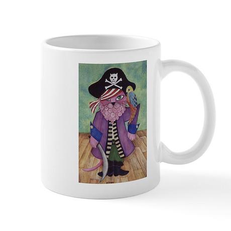 pirate cat Mugs