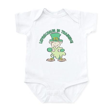 LEPRECHAUN IN TRAINING! Infant Bodysuit