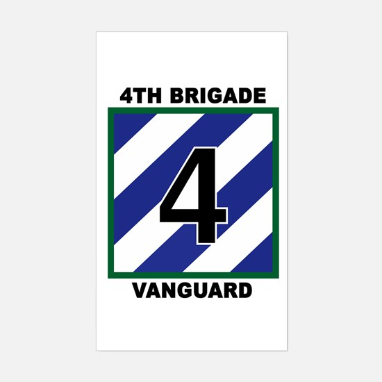 4th BDE Rectangle Decal