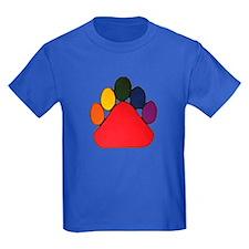 COLORFUL RAINBOW BEAR PAW T