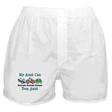 Aunt Triathlete Triathlon Boxer Shorts