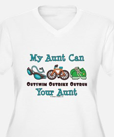 Aunt Triathlete Triathlon T-Shirt