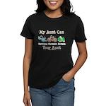 Aunt Triathlete Triathlon Women's Dark T-Shirt