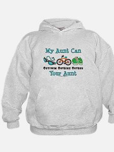 Aunt Triathlete Triathlon Hoodie
