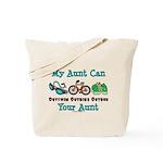 Aunt Triathlete Triathlon Tote Bag