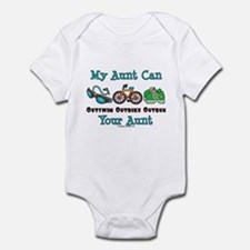 Aunt Triathlete Triathlon Infant Bodysuit