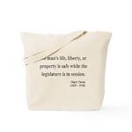 Mark Twain 39 Tote Bag