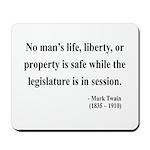 Mark Twain 39 Mousepad