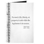 Mark Twain 39 Journal