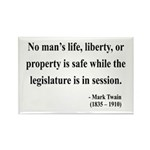Mark Twain 39 Rectangle Magnet (100 pack)