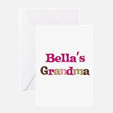 Bella's Grandma Greeting Card