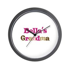 Bella's Grandma Wall Clock