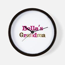 Bella's Grandma Wall Clock