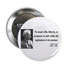 "Mark Twain 39 2.25"" Button"