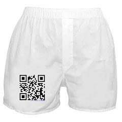 Otaku QR Code Boxer Shorts