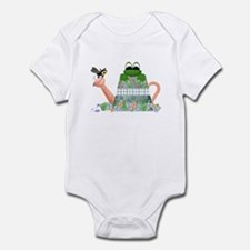 Lilly's Pad Watering Can Infant Creeper