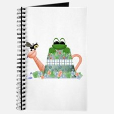 Lilly's Pad Watering Can Journal