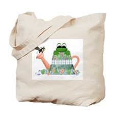 Lilly's Pad Watering Can Tote Bag