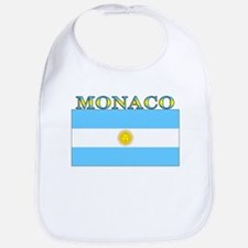 Monaco Argentina Flag Bib