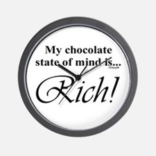 My chocolate state of mind is Wall Clock