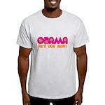 Flower Power Obama Light T-Shirt