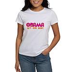 Flower Power Obama Women's T-Shirt