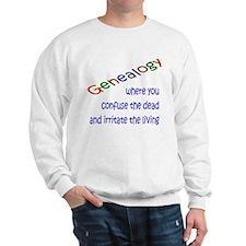 Genealogy Confusion (blue) Sweatshirt