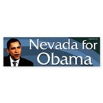 Nevada for Barack Obama bumper sticker